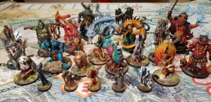 Rising sun miniatures- Boxing meeples - board game review