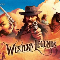 Western Legends bordspel - Boxing Meeples Board Games