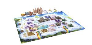 Bunny kingdom in the sky - spelbord - Boxing meeples - game board