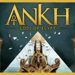 Ankh: city of gods cover - Boxing meeples - board game review