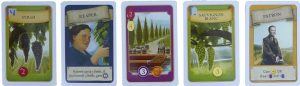 Viticulture: essential edition spelkaarten - Boxing meeples - board game review