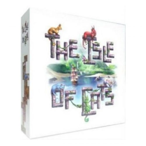 The isle of cats speldoos 3D - Boxing meeples - board game shop