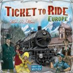 Ticket to ride Europe speldoos square - Boxing meeples - board game shop