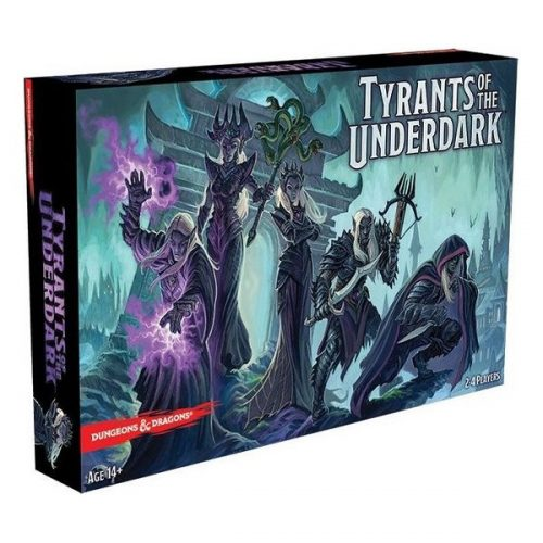 Tyrants of the underdark speldoos 3D - Boxingmeeples - boardgameshop