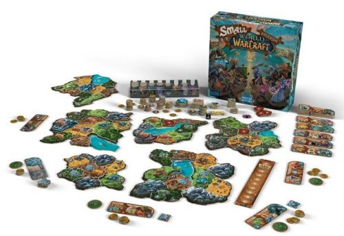 Smallworld of warcraft spelopstelling - Boxing meeples - boardgameshop