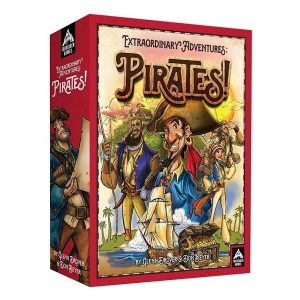 Extraordinary adventures: pirates speldoos 3D - Boxingmeeples - boardgameshop