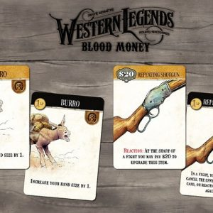 Western legends: blood money spelkaarten - Boxingmeeples - boardgameshop