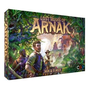 Lost ruins of Arnak speldoos 3D - Boxingmeeples - board game shop