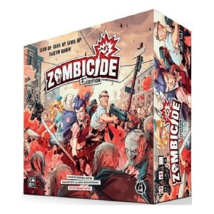 Zombicide 2nd speldoos 3D - Boxingmeeples - board game shop