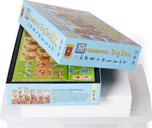Carcassonne big box speldoos - Boxingmeeples - board game shop