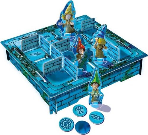 Het magische labyrint spelopstelling - Boxingmeeples - board game shop