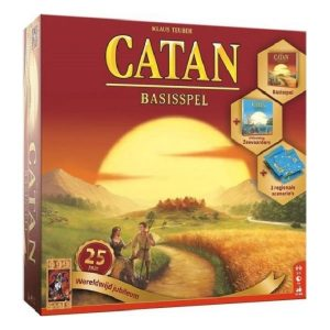 Catan 25 jubileum speldoos 3D - Boxingmeeples - board game shop