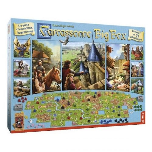 Carcassonne big box speldoos 3D - Boxingmeeples - board game shop