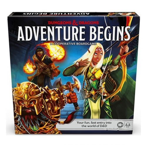 D&D adventure begins speldoos 3D - Boxingmeeples - bordspel webshop